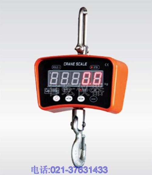 5-10吨电子吊秤、价格最实惠的吊秤厂家-上海甘坛仪器
