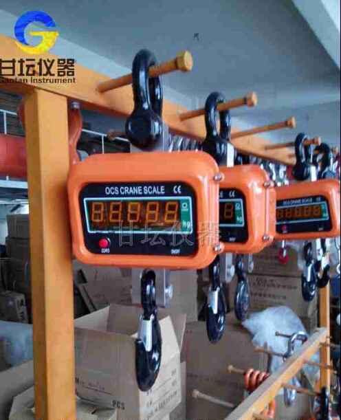 1吨电子吊秤.铁路、矿山用吊磅一吨