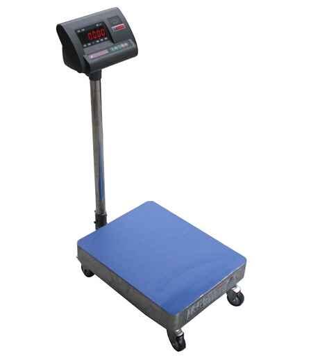 带滑轮电子秤.200公斤地上台称