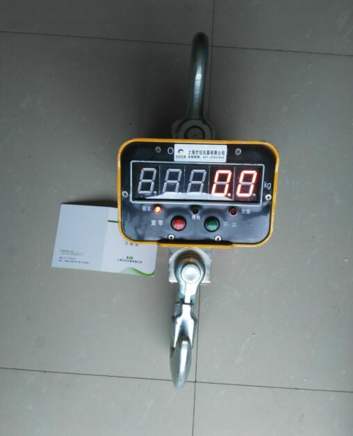 直视电子吊秤.果木称重用1t,2t,3t,5t单显吊钩秤